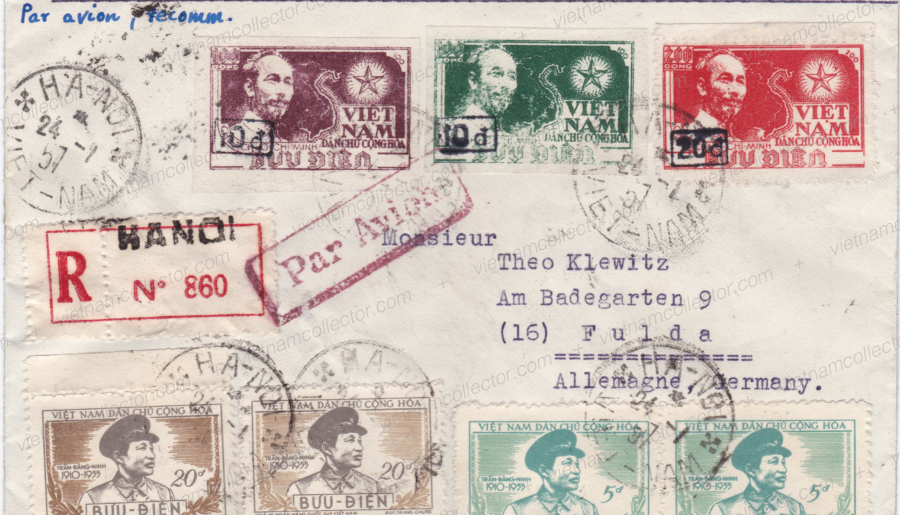 Ho Chi Minh 3rd Series overprinted with new values (Part 3)
